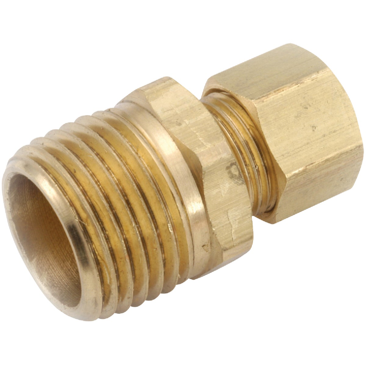 1/4X1/4 MALE CONNECTOR - 750068-0404 by Anderson Metals Corp