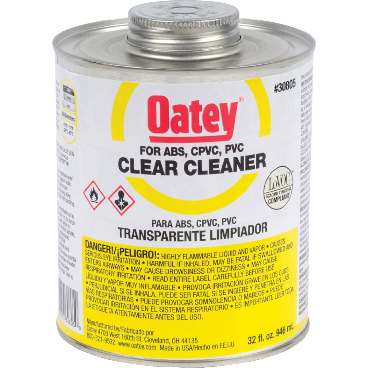 QUART CLEANER - 30805 by Oatey Scs