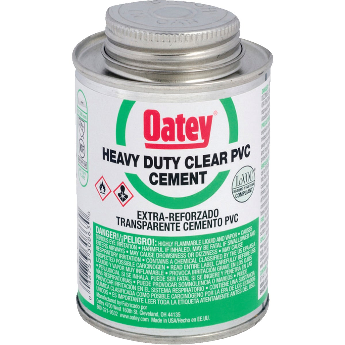 1/4PT H/DUTY PVC CEMENT - 30850 by Oatey Scs