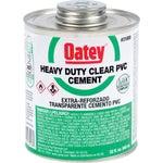 Heavy-Duty Clear PVC Cement