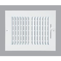 Home Impression 2-Way Wall Register, 2SW0806WH-B