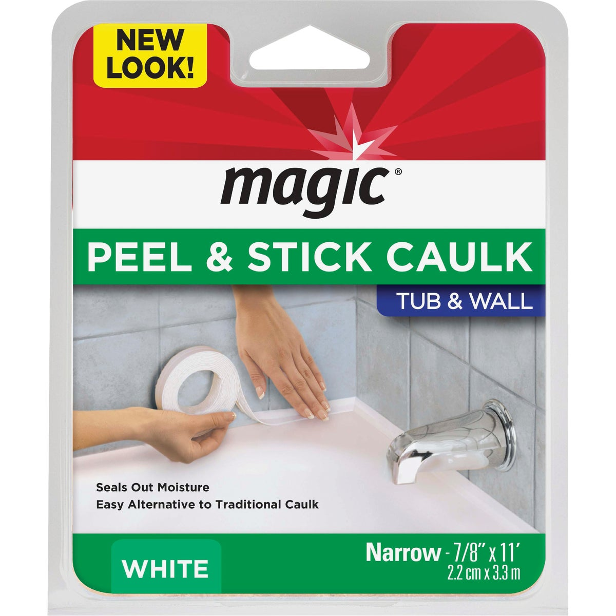 "7/8""X11' WHT SEALER TRIM - MC156T by Magic Ntrl Magic Sci"