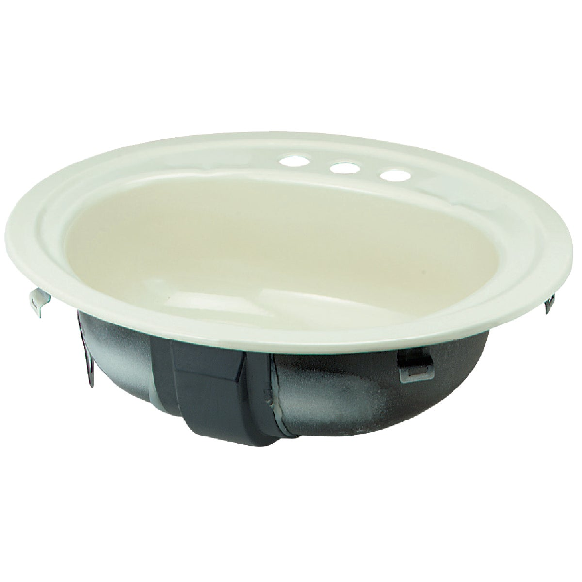 BONE OVAL LAVATORY - 3004-733 by Briggs