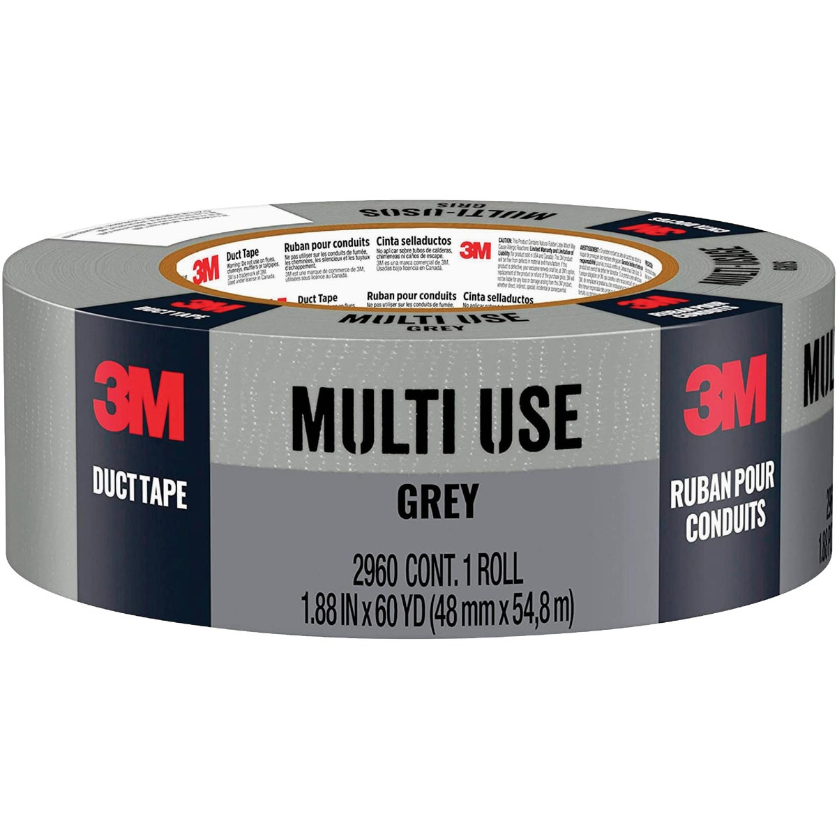 48MMX60YD GRAY DUCT TAPE - 1160-A by 3m Co