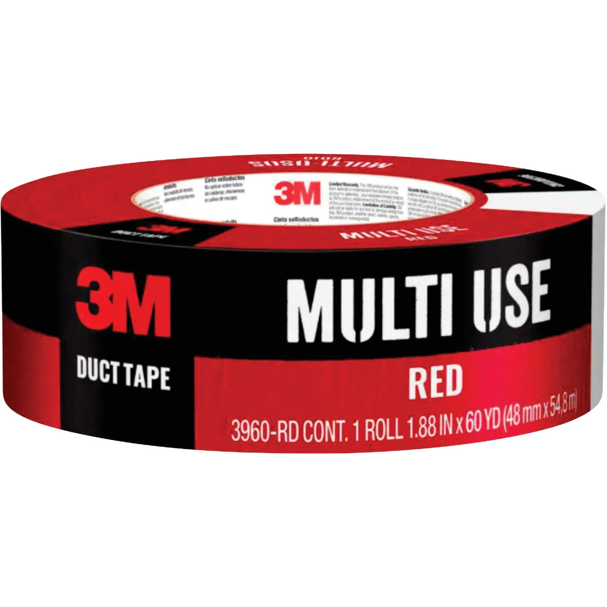 "1.88""X60YD RED DUCT TAPE - 1060-RED-A by 3m Co"