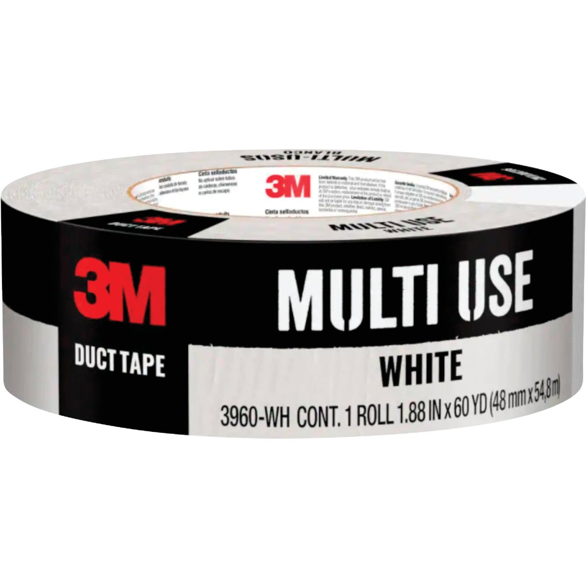 """1.88""""X60YD WHT DUCT TAPE"""