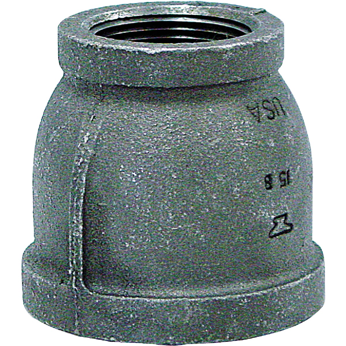 1-1/2X1 BLK COUPLING