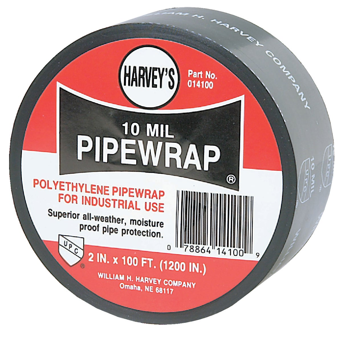 "2""X100' PIPE TAPE - 014100 by Wm H Harvey Co"