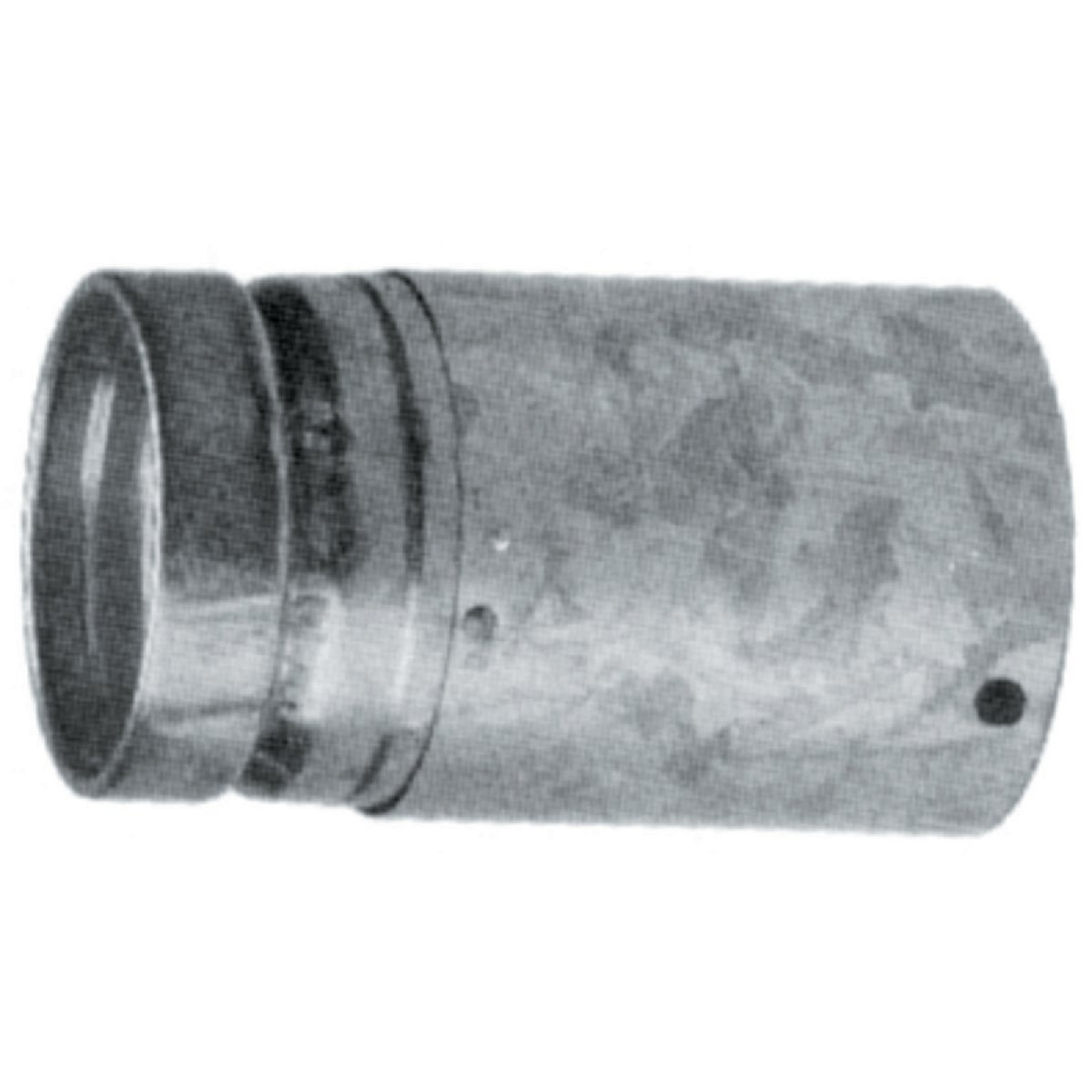 "4"" ADJ GAS VENT PIPE - 4RV-EZAJ12 by Selkirk Corporation"