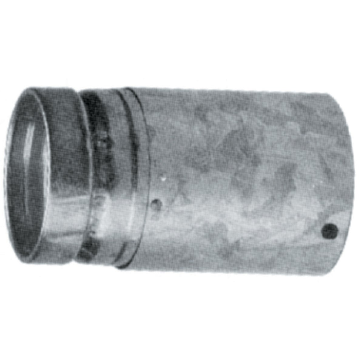 "5"" ADJ GAS VENT PIPE - 5RV-EZAJ12 by Selkirk Corporation"