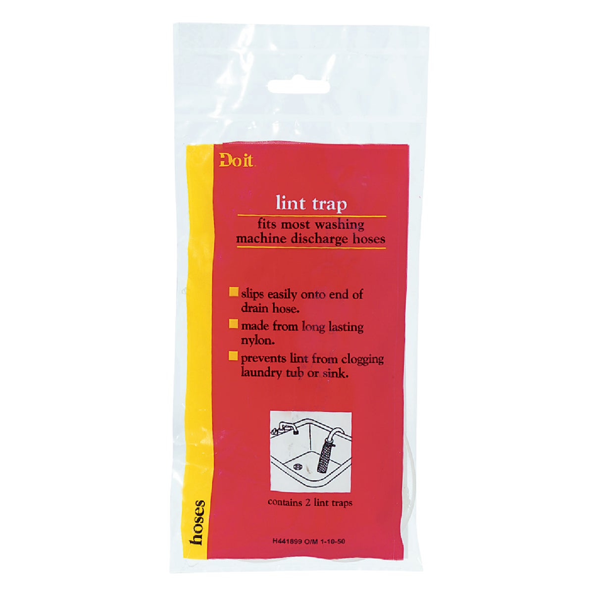 2PK NYLON LINT TRAP