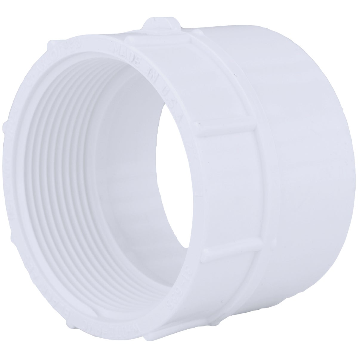 "2"" DWV FEMALE ADAPTER - 70320 by Genova Inc  Pvc Dwv"