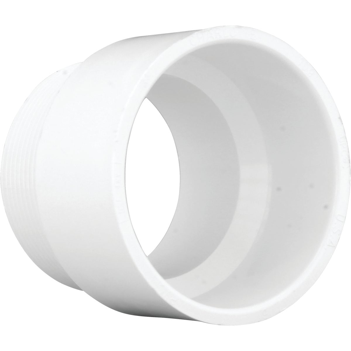 "3"" PVC-DWV MALE ADAPTER - 70430 by Genova Inc  Pvc Dwv"