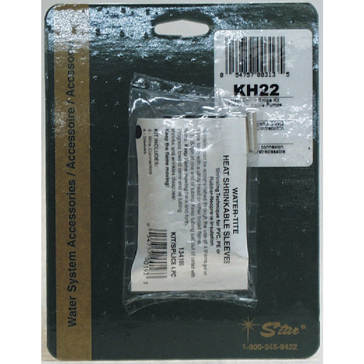 SPLICE KIT - KH22 by Star Water Systems