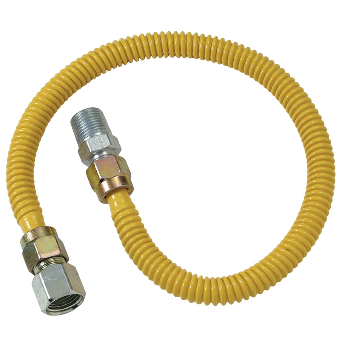 1/2X60 GAS CONNECTOR - CSSD54-60P by Brass Craft