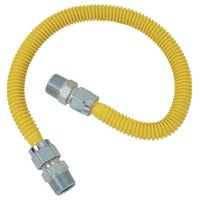 """1/2"""" M.I.P. X 1/2"""" M.I.P. Stainless Steel Gas Connector, CSSC44-24P"""