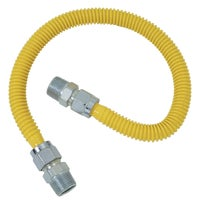 """1/2"""" M.I.P. X 1/2"""" M.I.P. Stainless Steel Gas Connector, CSSC44-60P"""