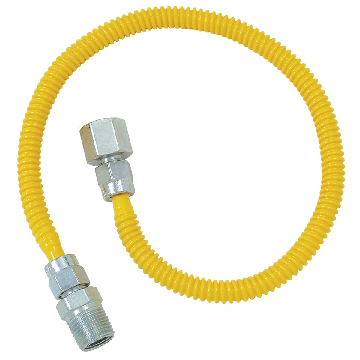 3/8X18 GAS CONNECTOR - CSSL54-18P by Brass Craft