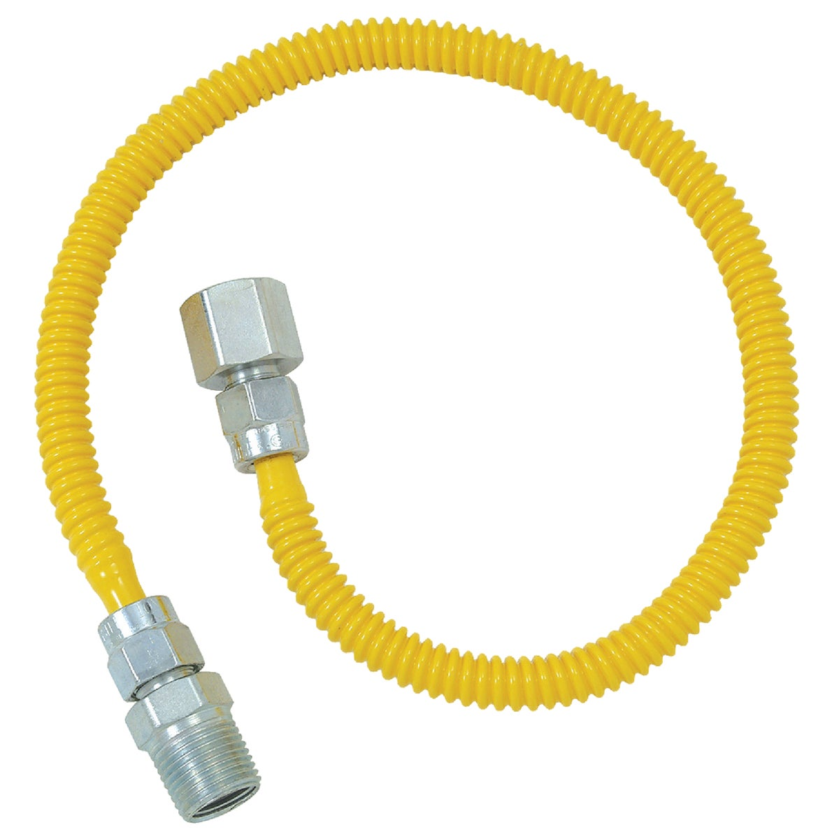 3/8X24 GAS CONNECTOR - CSSL54-24P by Brass Craft