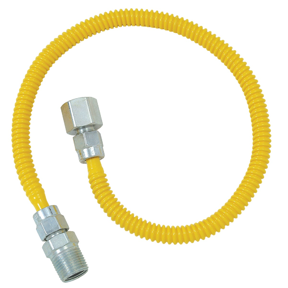 3/8X60 GAS CONNECTOR - CSSL54-60P by Brass Craft