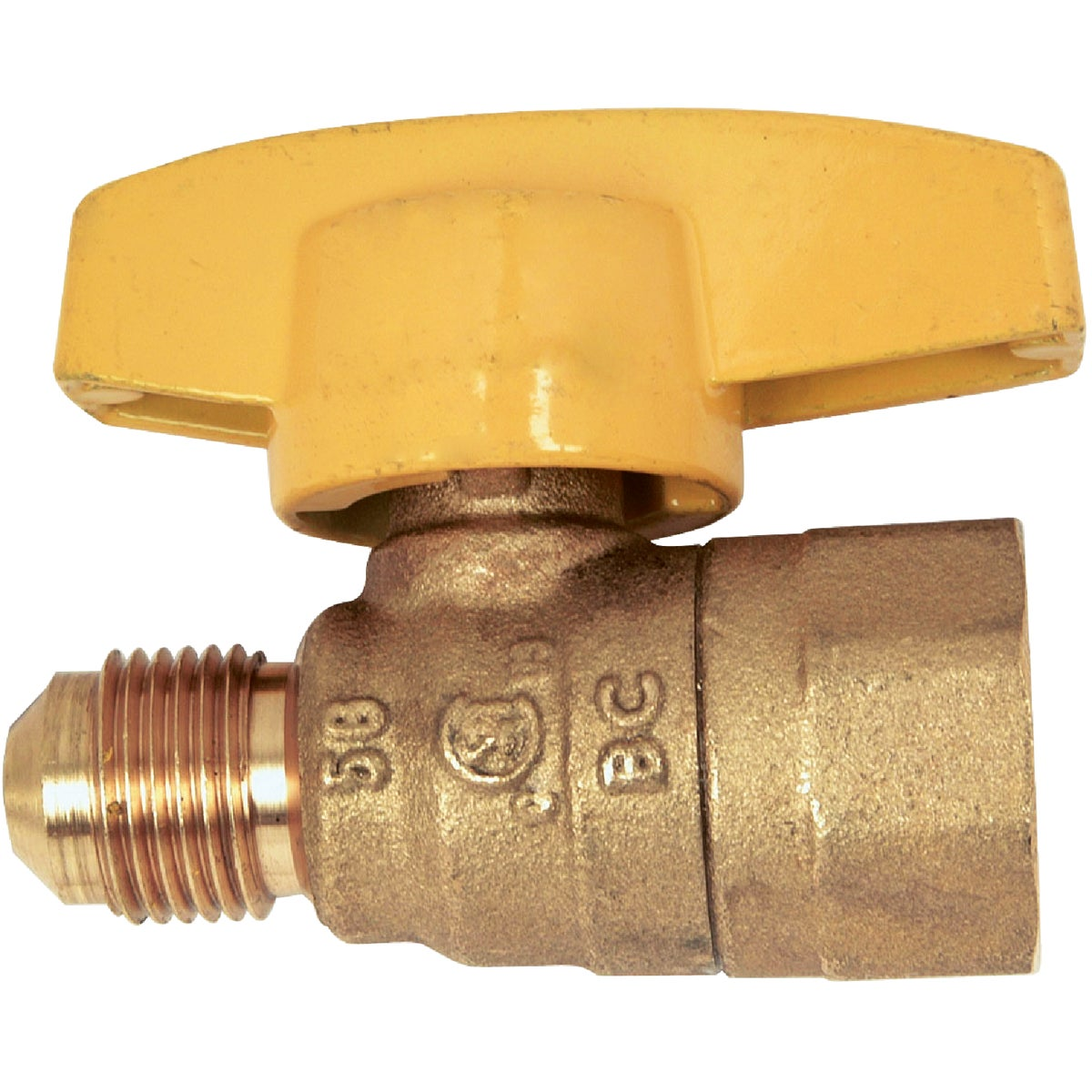 3/8X1/2 GAS VALVE - PSSL-12 by Brass Craft