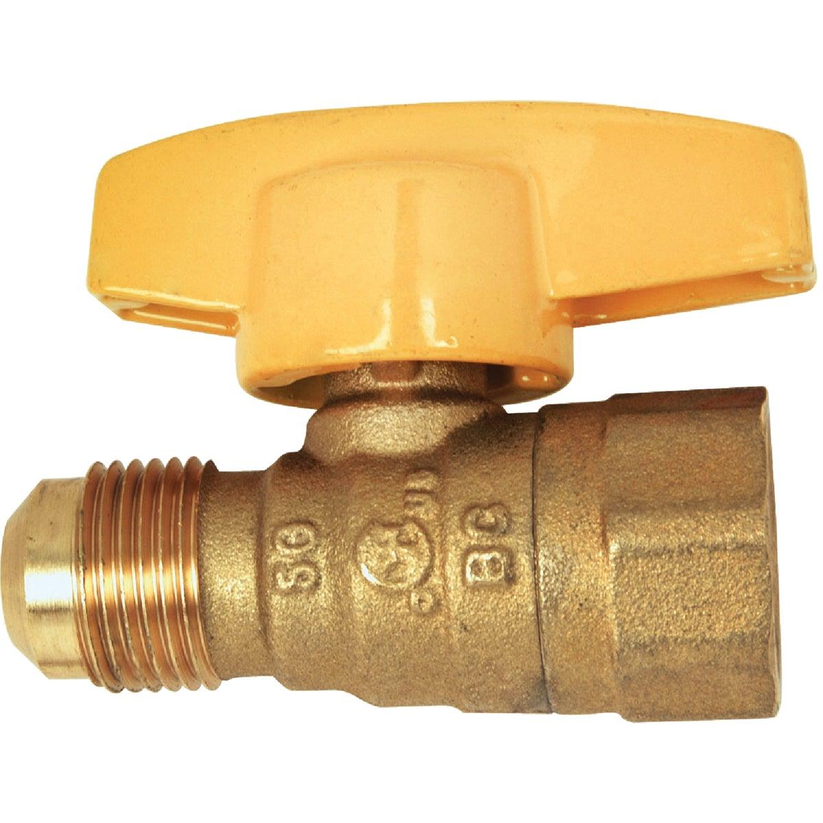 1/2X1/2 GAS VALVE - PSSD-41 by Brass Craft