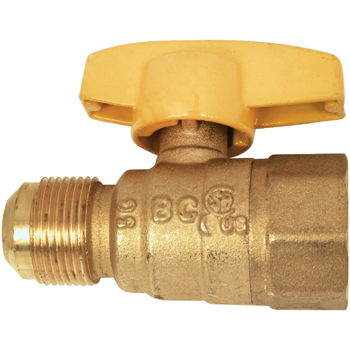 5/8X1/2 GAS VALVE - PSSC-68 by Brass Craft