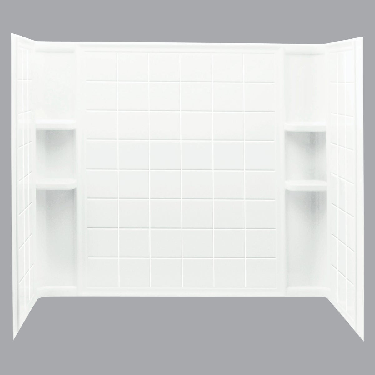 WHITE ENSEMBLE WALLSET
