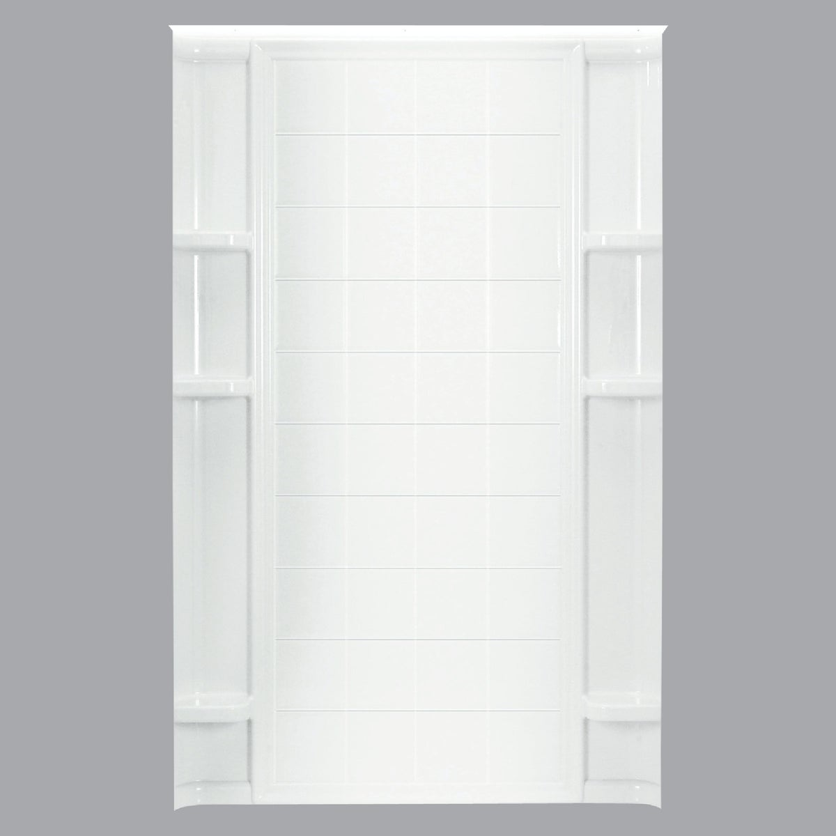 "48"" WHITE TILE BACKWALL"