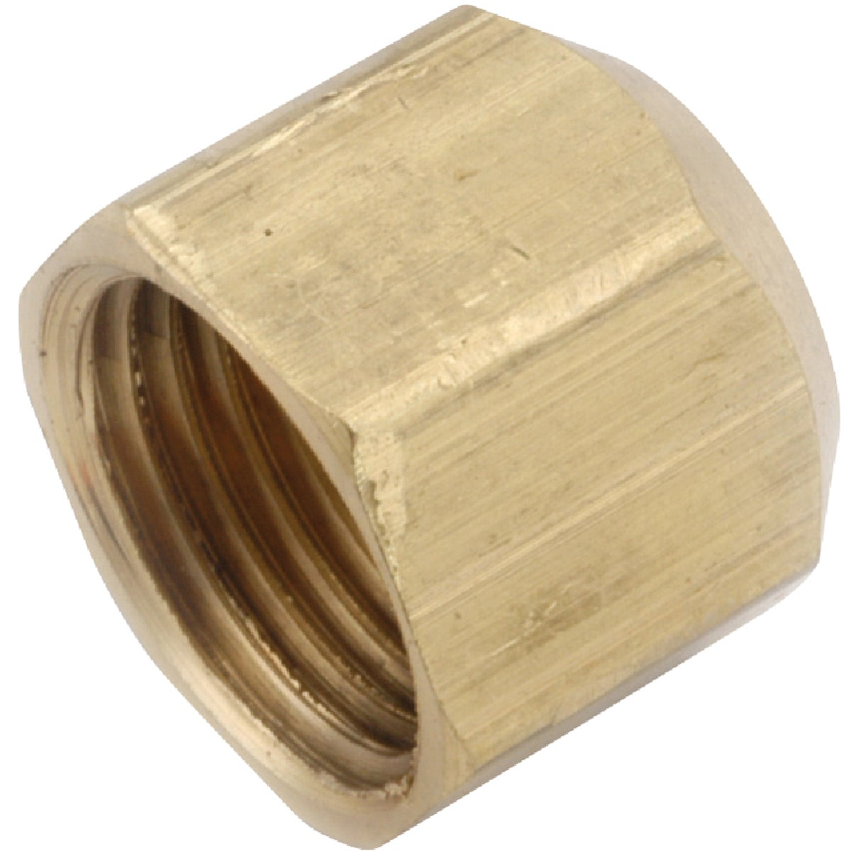 """1/2"""" FLARE CAP - 754040-08 by Anderson Metals Corp"""