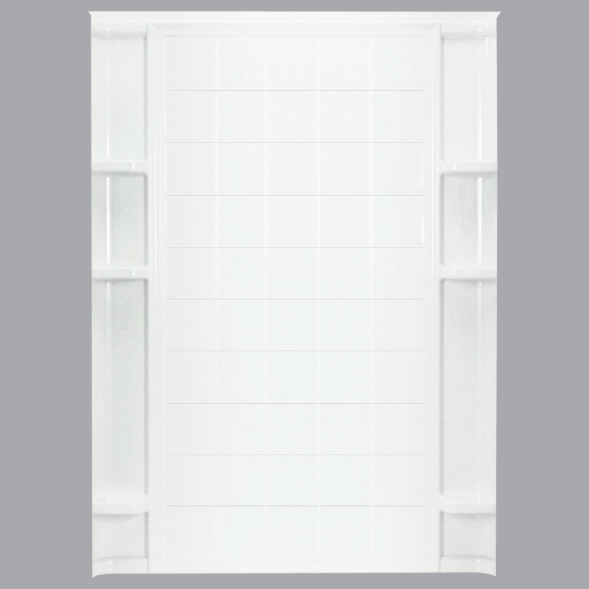 "60"" WHITE TILE BACKWALL"