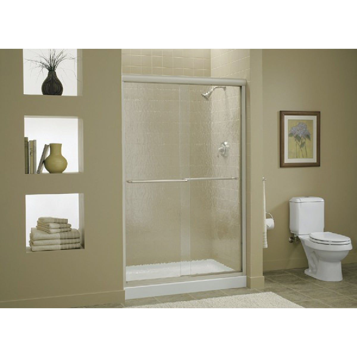 Sterling SILVER BY-PASS TUB DOOR 5475-48S-G05