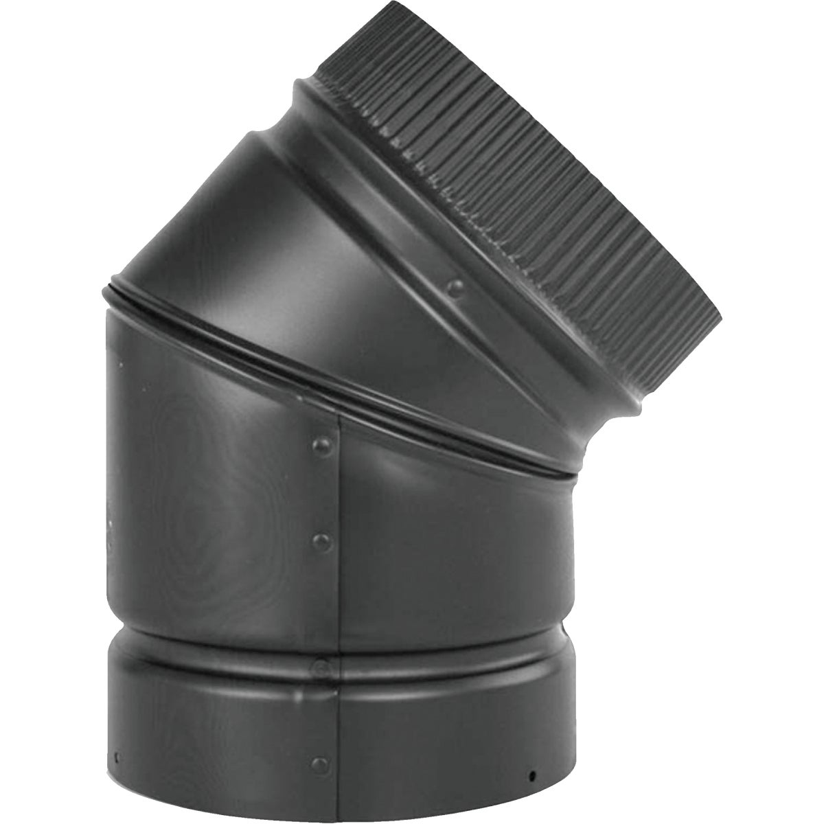 BLK 45 PELLET ELBOW PIPE