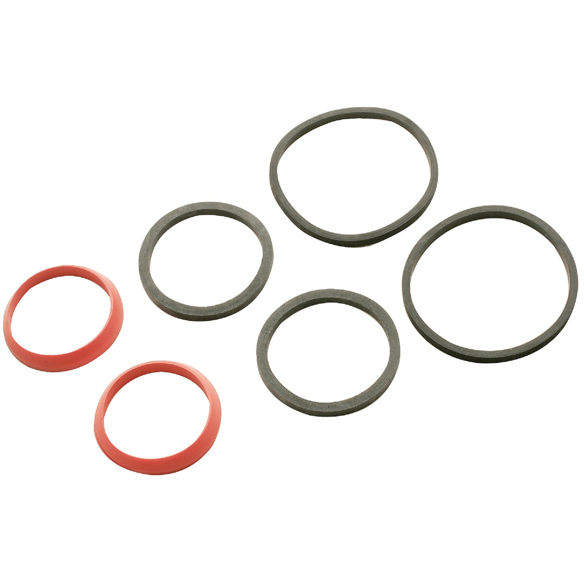 6PK RBR S/J WASHERS