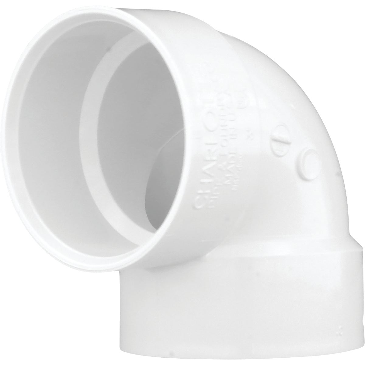 "3"" 90 PVC-DWV VENT ELBOW - 70730 by Genova Inc  Pvc Dwv"