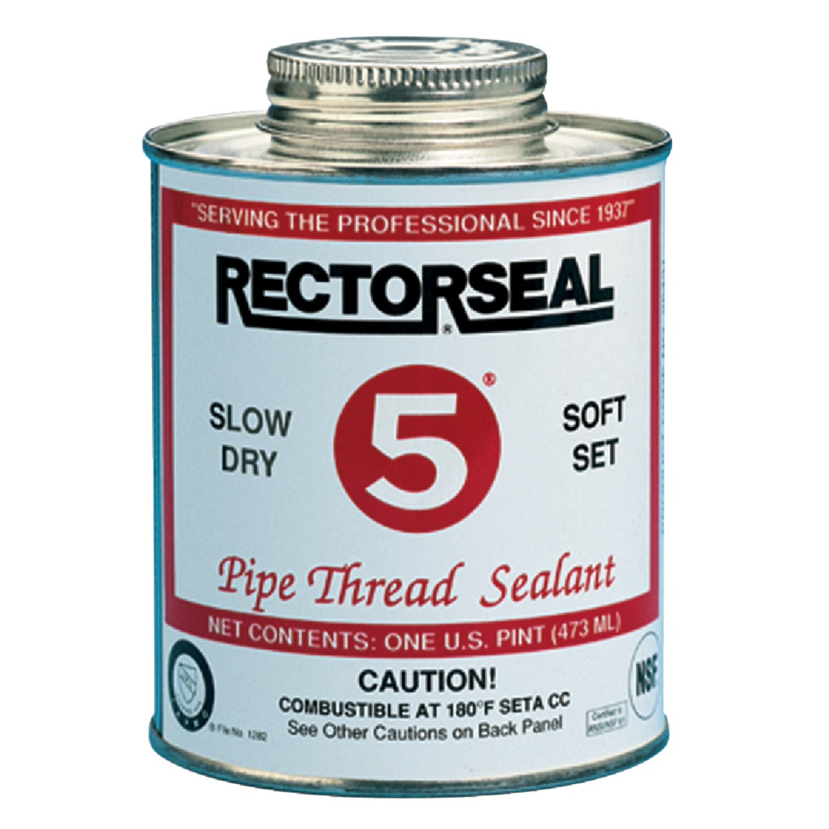 The Rectorseal Corp. 1/2PT PIPE THRD SEALANT 25551