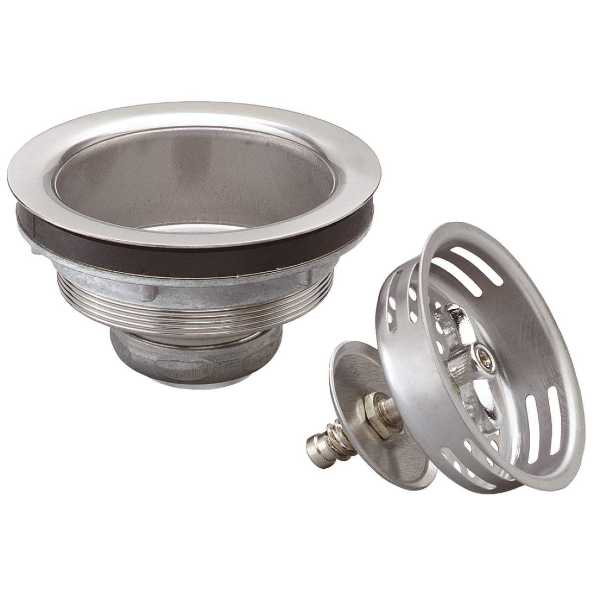 TURN2SEAL SS STRAINER - 1433SS by Plumb Pak/keeney Mfg