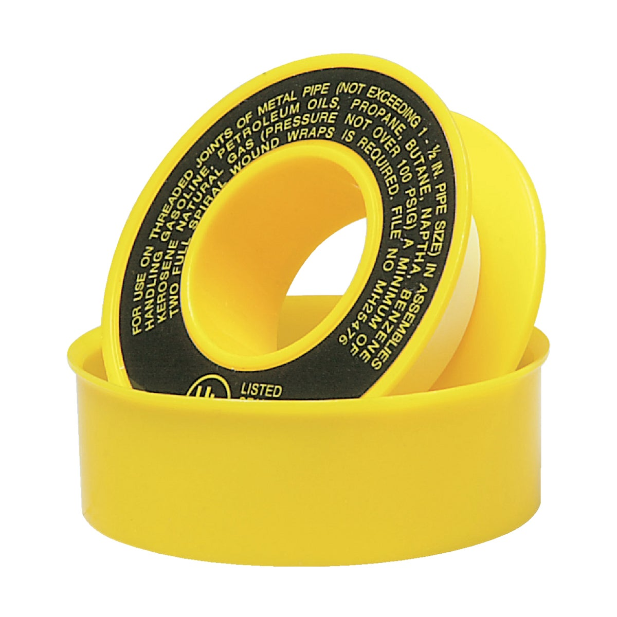 1/2X260YEL PTFE GAS TAPE - 017064 by Wm H Harvey Co