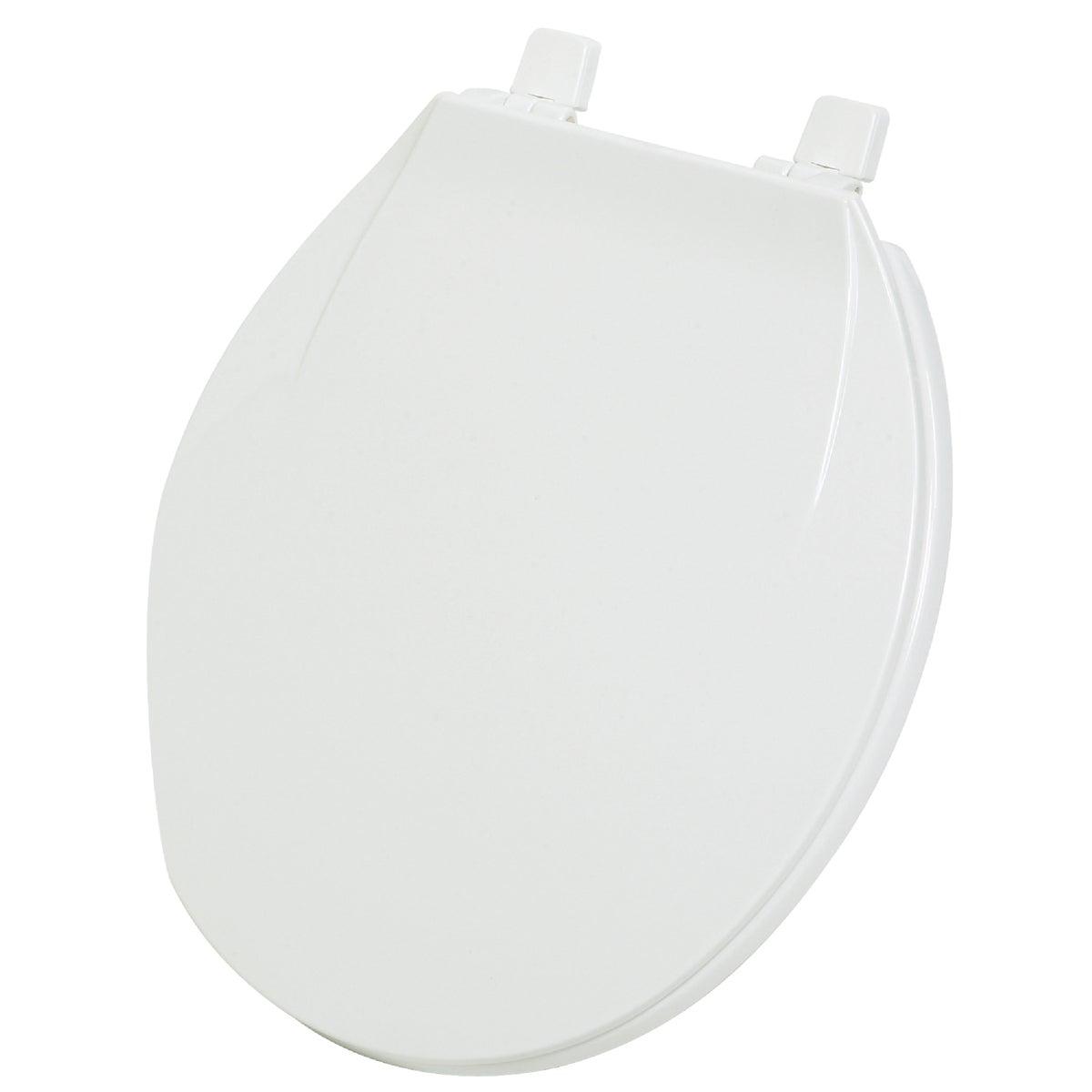 WHITE ROUND PLAS SEAT
