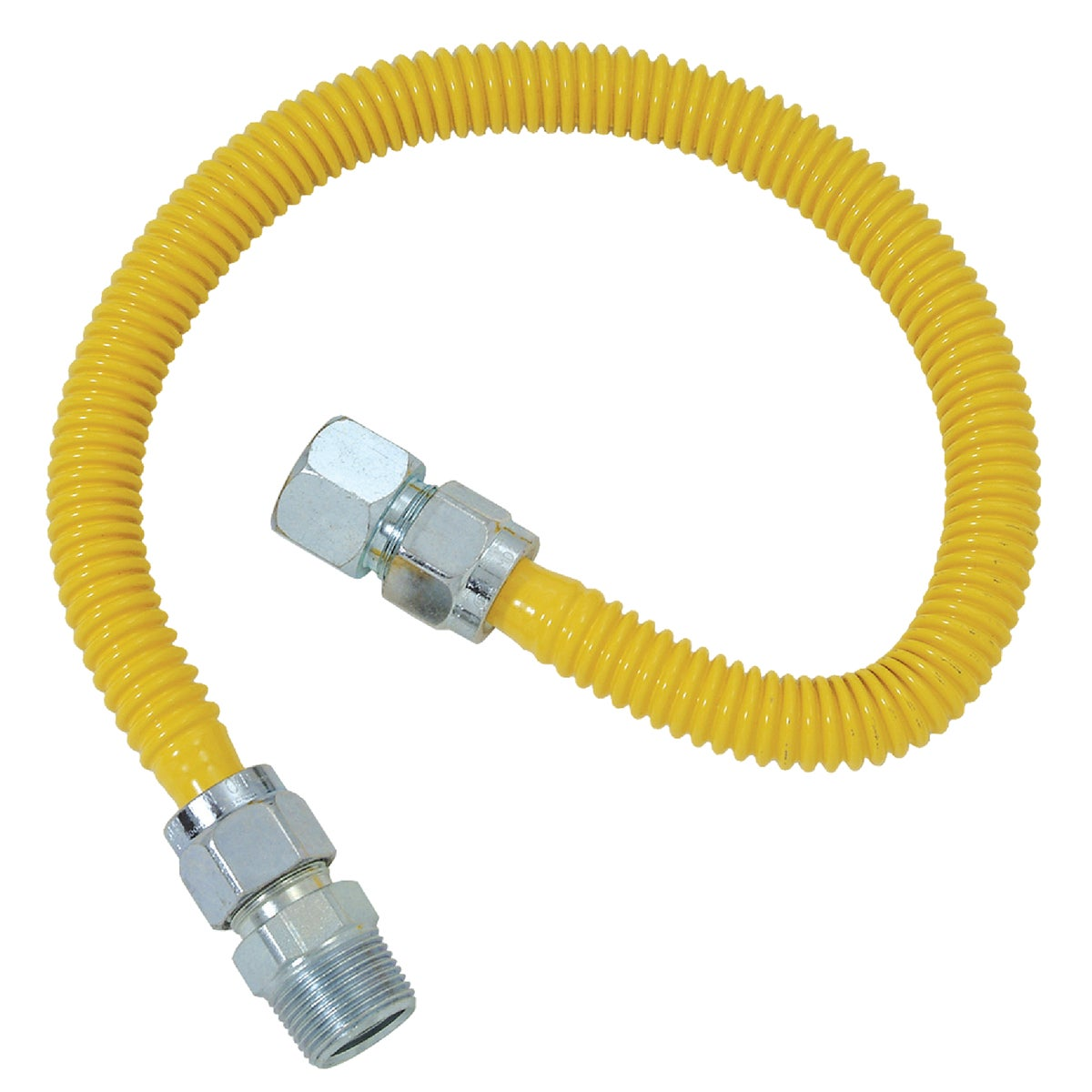 5/8X48 GAS CONNECTOR - CSSC21-48P by Brass Craft