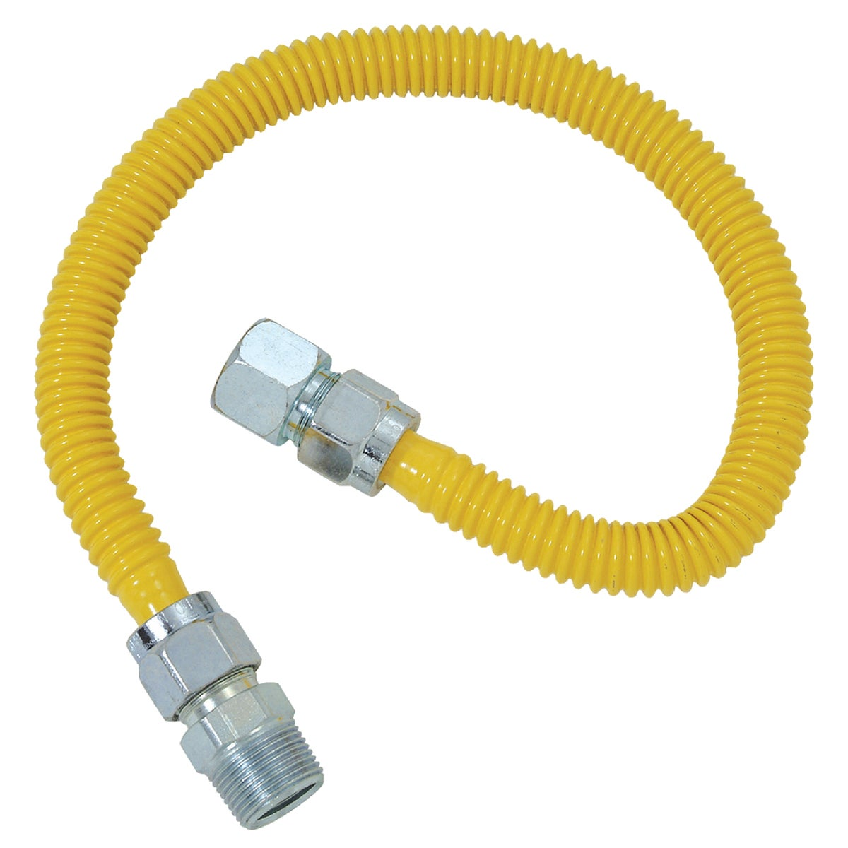 5/8X60 GAS CONNECTOR - CSSC21-60P by Brass Craft