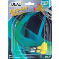 Ideal Corp. 2PK DRYER VENT HSE CLAMP 5Y064V