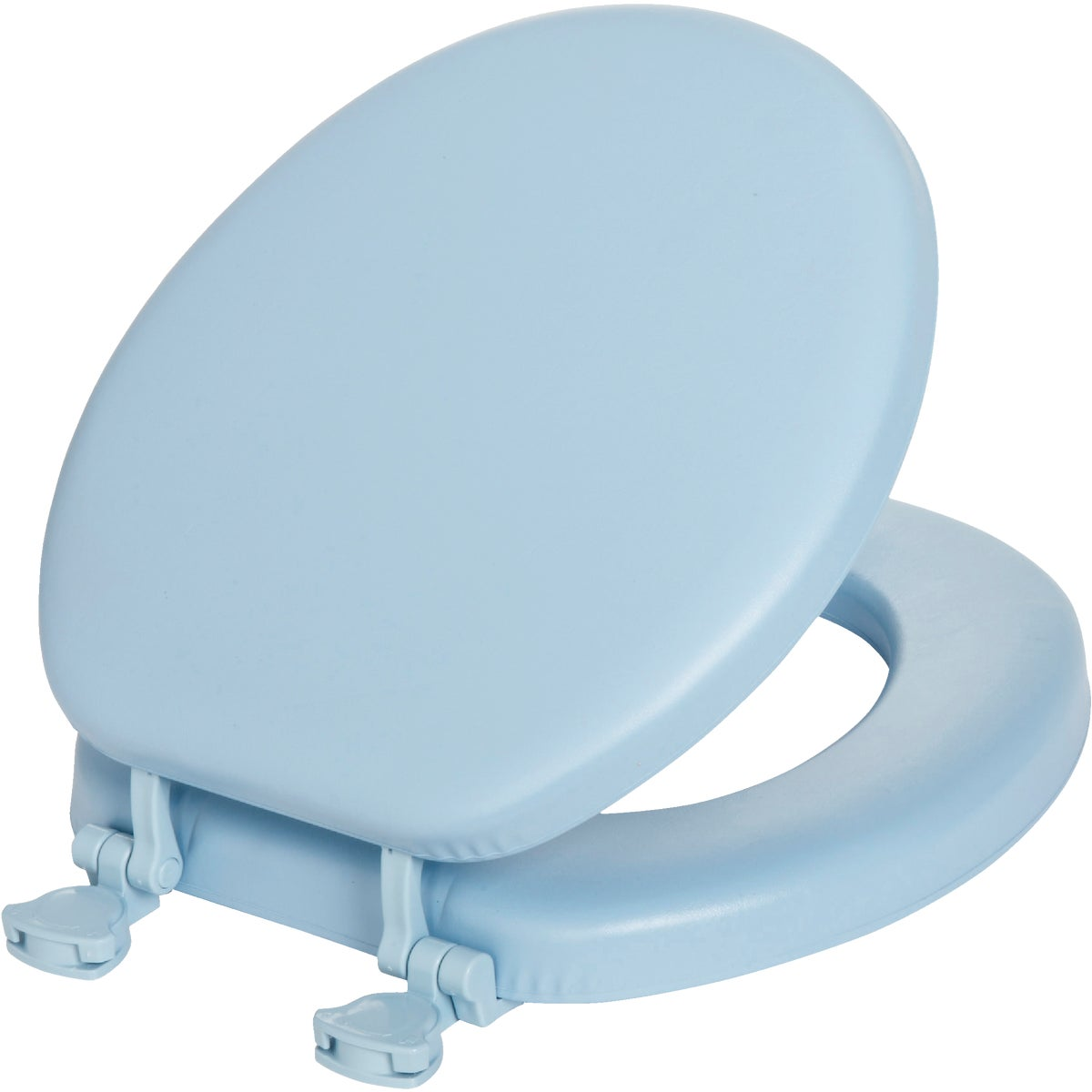 SKY BLUE SOFT ROUND SEAT