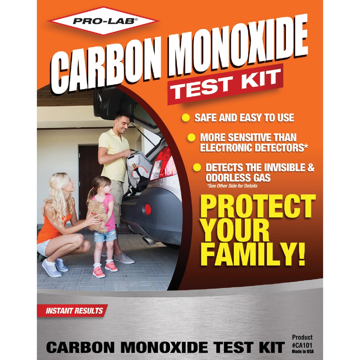 CARBON MONOXIDE TEST KIT - CA101 by Pro Lab Inc