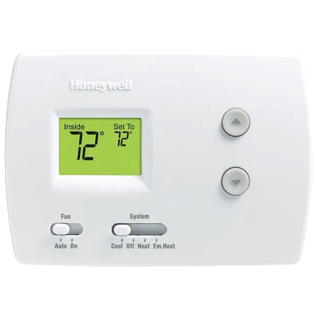 HEAT PUMP THERMOSTAT - RTH3100C1002A by Honeywell Internatl
