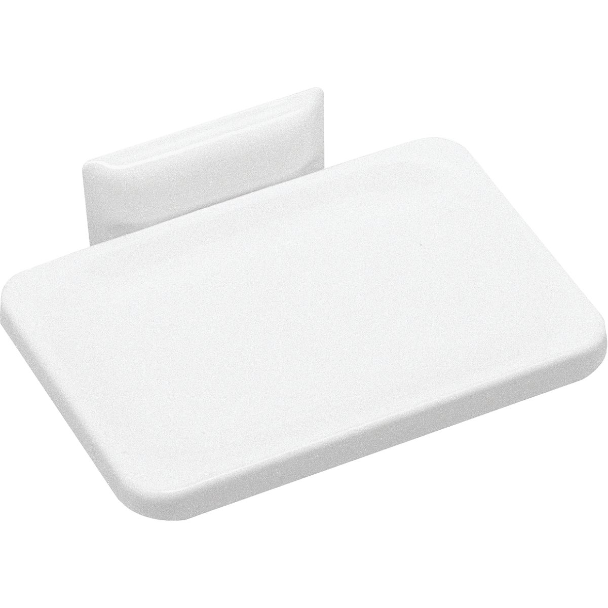 WHT WALL MOUNT SOAP DISH - 48000 by Decko Bath