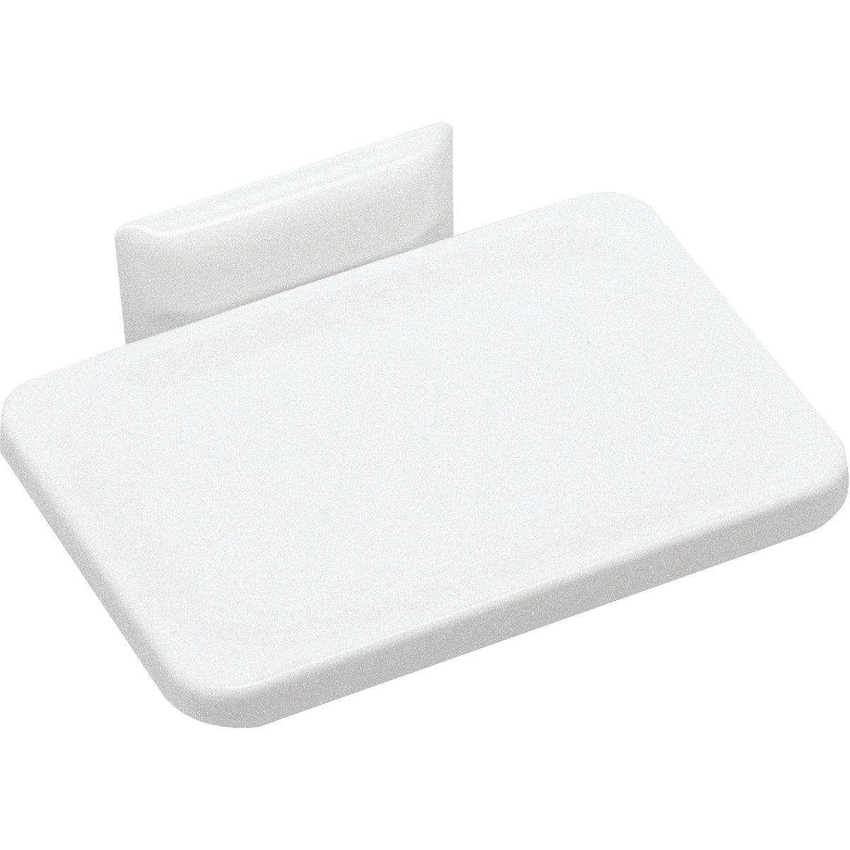 Wht Wall Mount Soap Dish