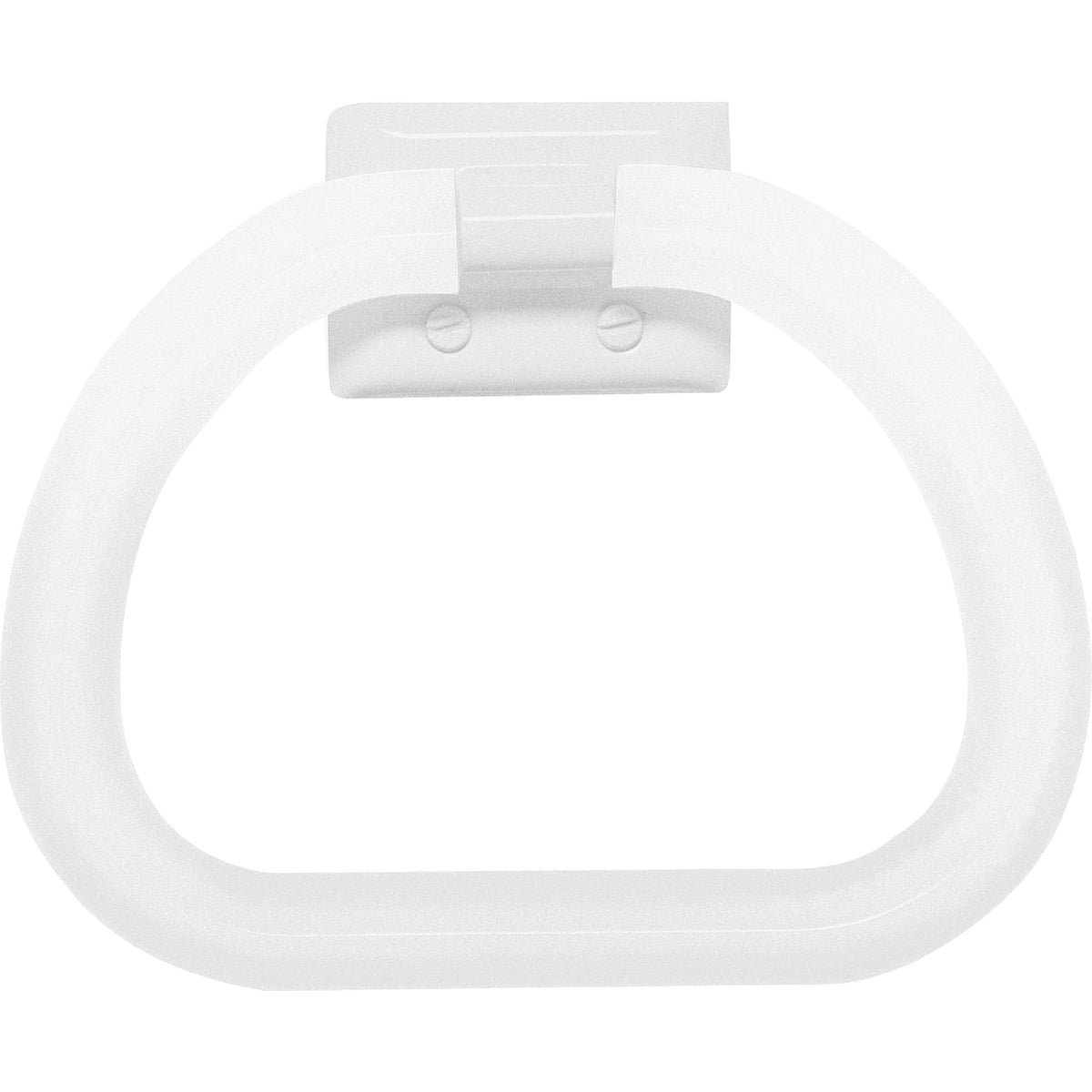 WHT TOWEL RING - 48230 by Decko Bath