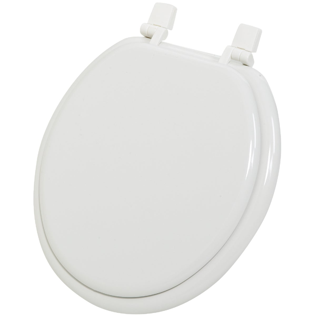 WHITE ROUND WOOD SEAT - WMS-17-R1 by Do it Best