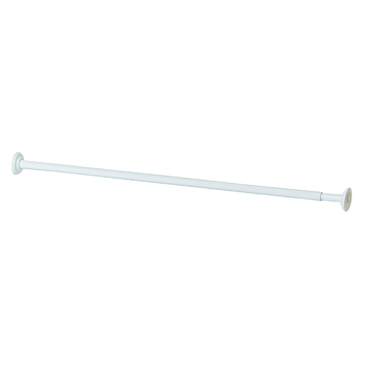 "72"" WHT SHOWER ROD - 653WW by Zenith Prod Corp"
